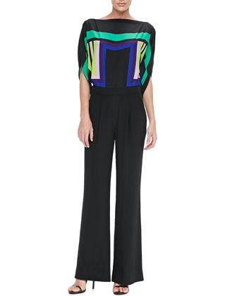 Lucy Jumpsuit with Wide Leg Pants