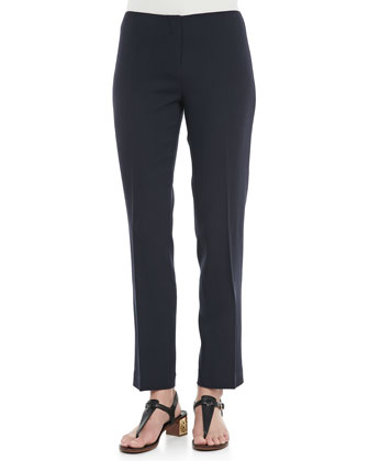 Tara Cropped Crepe Pants
