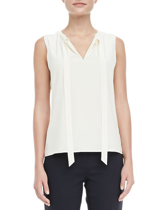 Tanya Tie-Neck Top