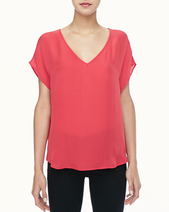 Glenna Short-Sleeve Top