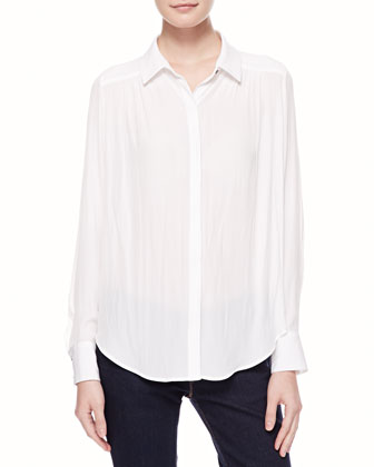Archie Long-Sleeve Blouse
