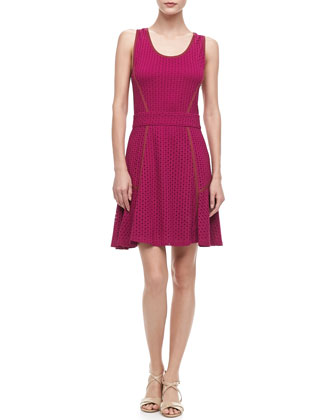 Emi Eyelet Swingy Dress