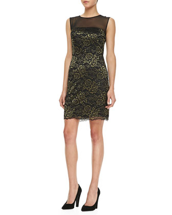Nisha Sleeveless Lace Dress