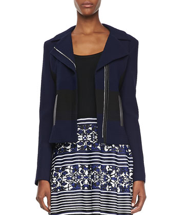 West Coat Two-Tone Jacquard Jacket