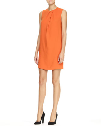 Jools Fluid Crepe Dress
