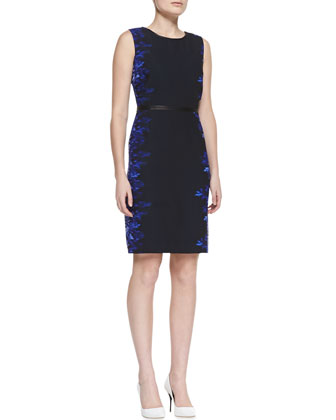 Beverly Digital-Print Sheath Dress