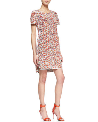 Sweet William Floral-Print Dress