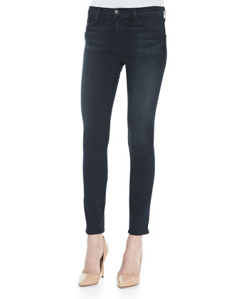 Mid-Rise Impression Skinny Jeans
