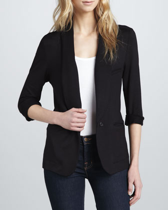 Neville Relaxed Terry Blazer