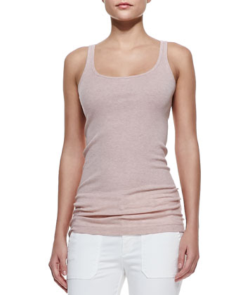 Favorite Tank, Heather Blush