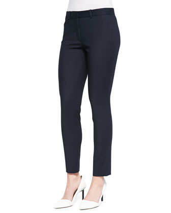 New Ellison Cropped Pants, Navy