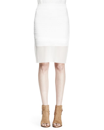 Molly Knit Pencil Skirt