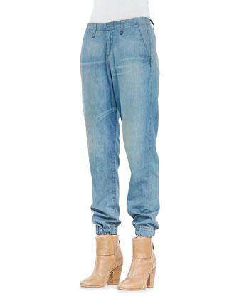 Chambray Pajama Jeans