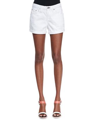 Boyfriend Denim Shorts