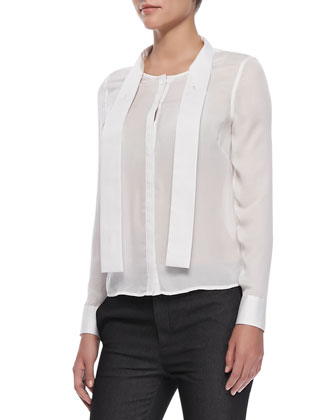 Ntalya Long-Sleeve Blouse