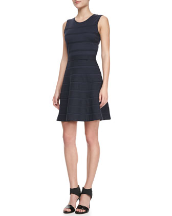 Alaqua B Flared Ponte Dress