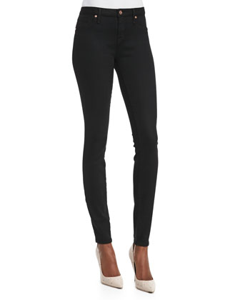 Stick Denim Jeans, Black
