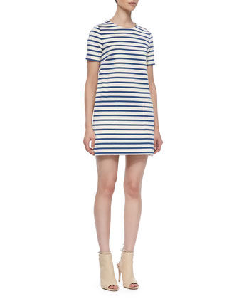 Jacquelyn Striped Shift Dress