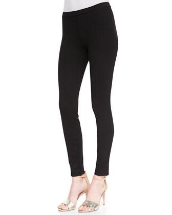 Evani Ponte Pull-On Leggings