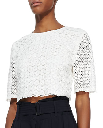 Fremont Lace Crop Top