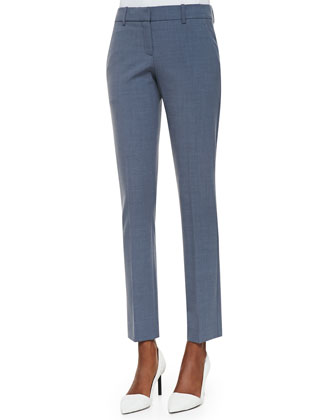 Louise Cropped Skinny Dress Pants