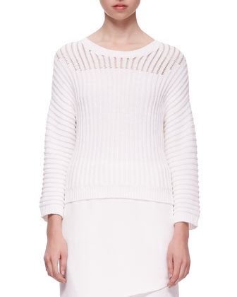 Marsha Squiggle Knit Sweater