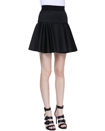 Valencia Dropped Flare Skirt