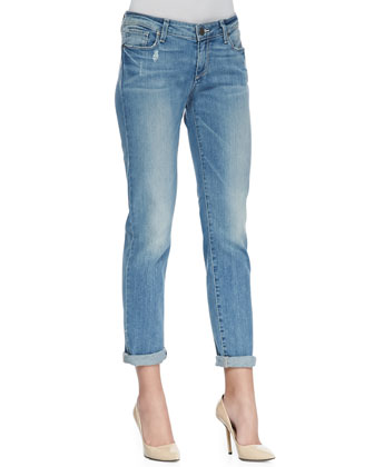 Jimmy Jimmy Relaxed Cropped Jeans, Whitely