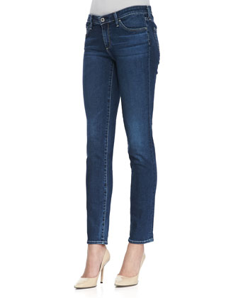 Stilt Cigarette Whiskered Skinny Jeans, Rio