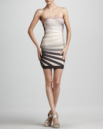 Strapless Rays Dress
