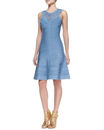 Viviane Woven Bandage Dress