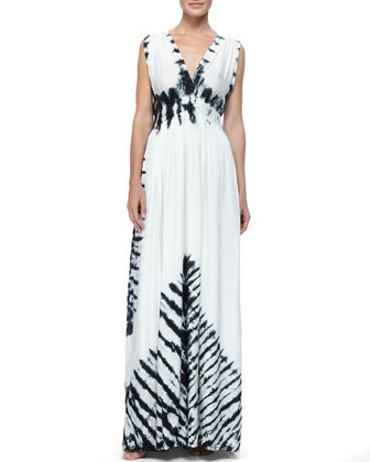 Slvlss Maxi Tie-Die Dress