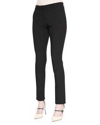 Super Slim Stretch-Wool Pants