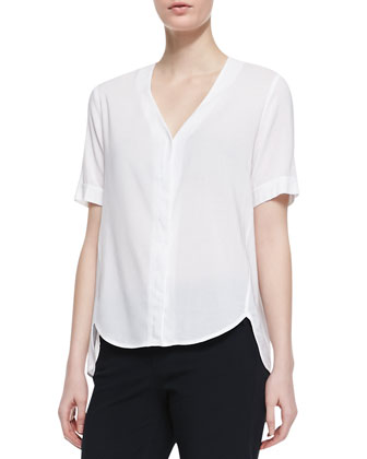 Napala Short-Sleeve Blouse