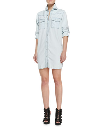The Lily Button-Down Shirtdress