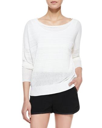 Denise Bateau-Neck Sweater
