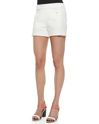 Farnsworth Structured Crepe Shorts