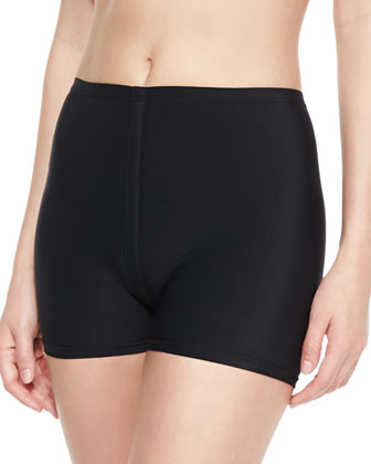 High-Waist Tight Shorts