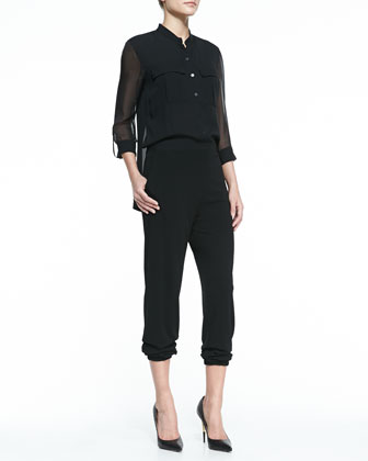Madison Silk Jumpsuit