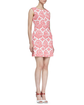 Carpreena Floral Mini A-line Dress