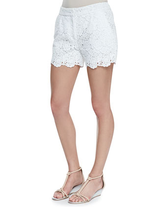 Naples Hippolyte Lace Shorts