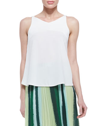 Pua Silk Floaty Tank Top