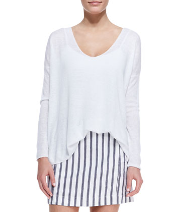 Sag Harbour Oversize Lightweight Sweater
