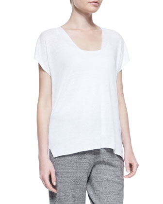 Sag Harbor Fine-Gauge Knit Top