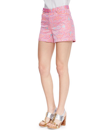 Soiree Whimsical Embroidered Shorts