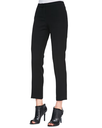 Kuril Item Cropped Trousers