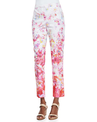 Lindley Floral-Print Pants