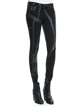 Black Robot The Legging Jeans
