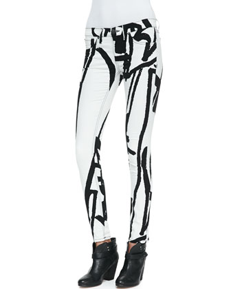 The Legging Jeans, White Robot