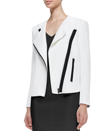 Sugar Two-Tone Moto Jacket